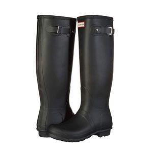 Hunter Tall Women's Rainboots- Black